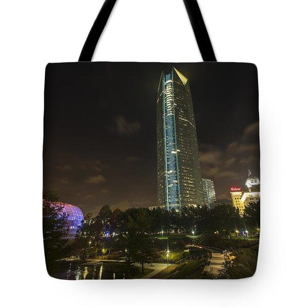 Devon Tower Okc Tote Bag