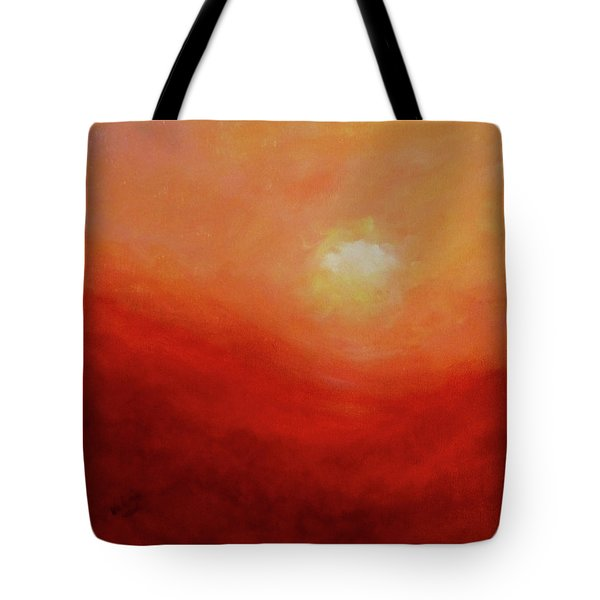 Tote Bag featuring the painting Devotion by Valerie Anne Kelly