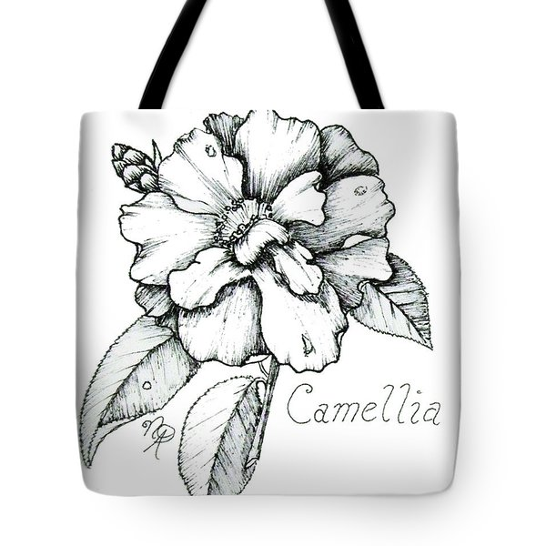 Dew Kissed Camellia Tote Bag