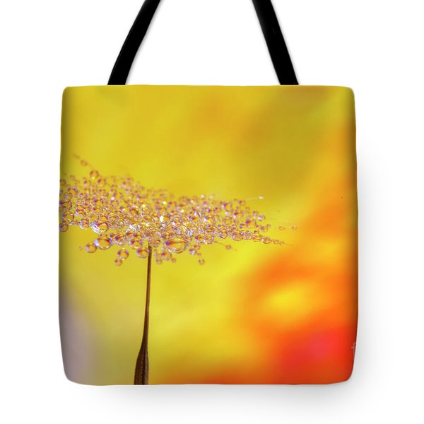 Dewdrops Tote Bag