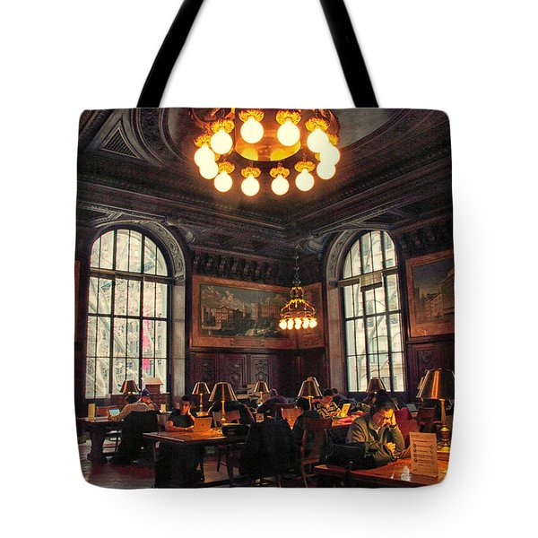 Tote Bag featuring the photograph Dewitt Wallace Periodical Room by Jessica Jenney