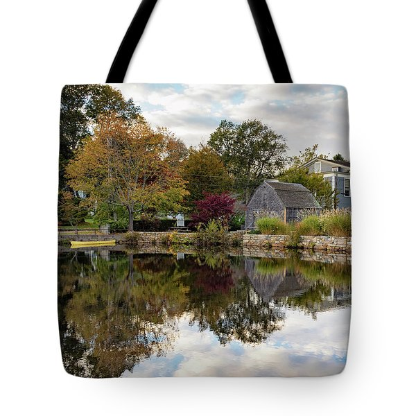 Dexter Grist Mill Reflections Tote Bag