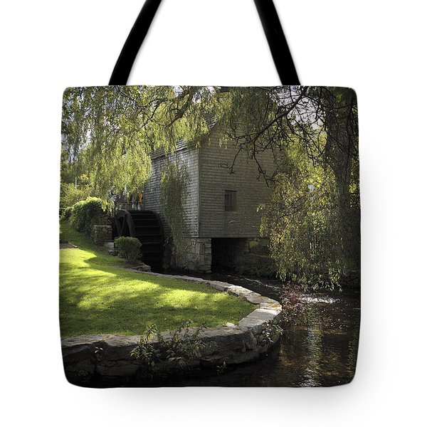 Dexter Mill Race In Sandwich Massachusetts Tote Bag