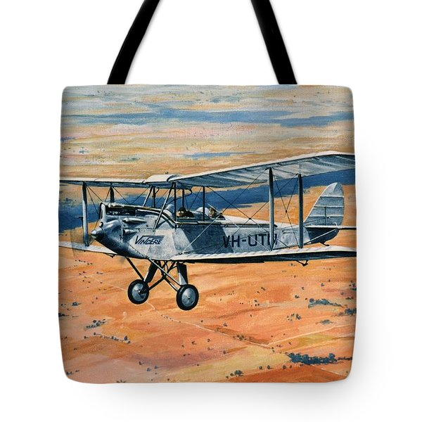 'dh60g Barn Storming - Nancy Bird Walton' Tote Bag