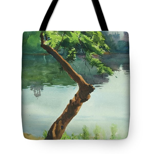 Dhanmondi Lake 03 Tote Bag
