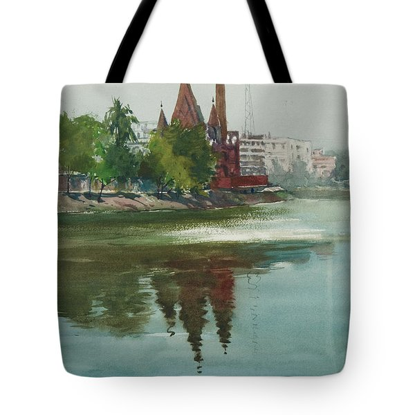 Dhanmondi Lake 04 Tote Bag