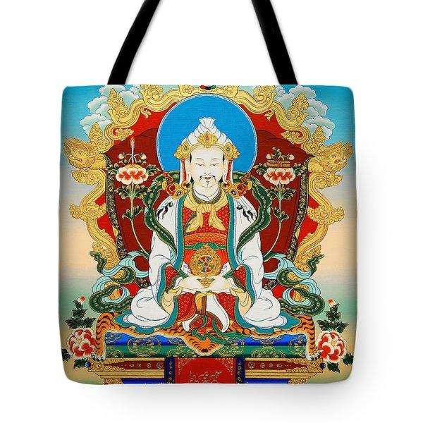 Dharmaraja Trisong Detsen Tote Bag