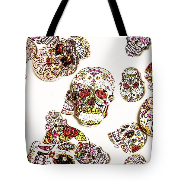 Dia De Muertos Tote Bag