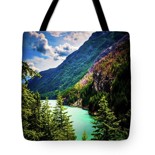 Diablo Lake Tote Bag