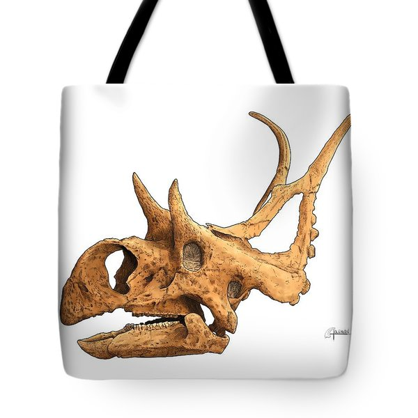 Diabloceratops Tote Bag
