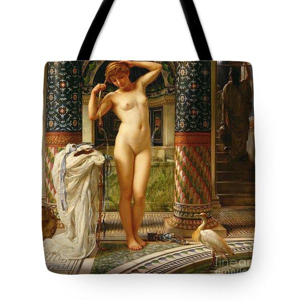 Diadumene Tote Bag by Sir Edward John Poynter