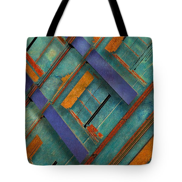 Diagonal Tote Bag by Don Gradner
