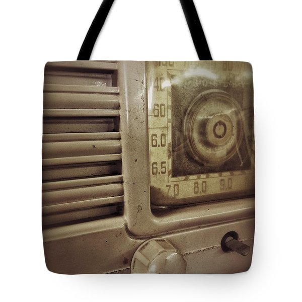 Tote Bag featuring the photograph Dialing In by Olivier Calas