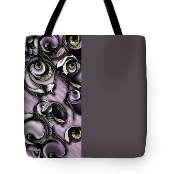Dialogue With Interfering Reality Tote Bag by Carmen Fine Art