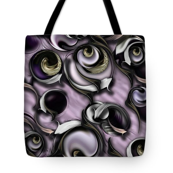 Dialogue With Interfering Reality Tote Bag