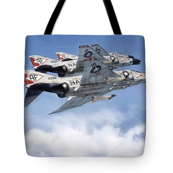 Diamonback Echelon Tote Bag by Peter Chilelli