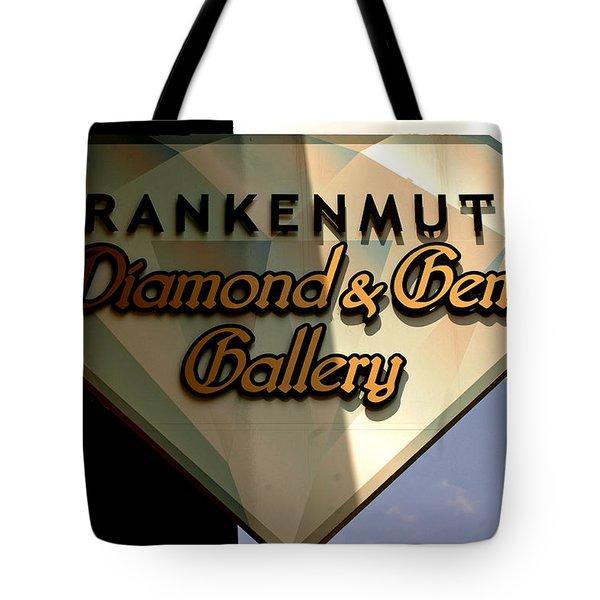 Diamond And Gem Gallery Tote Bag by LeeAnn McLaneGoetz McLaneGoetzStudioLLCcom