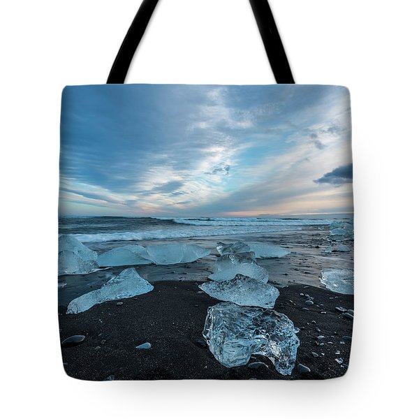 Diamond Beach Sunset  Tote Bag