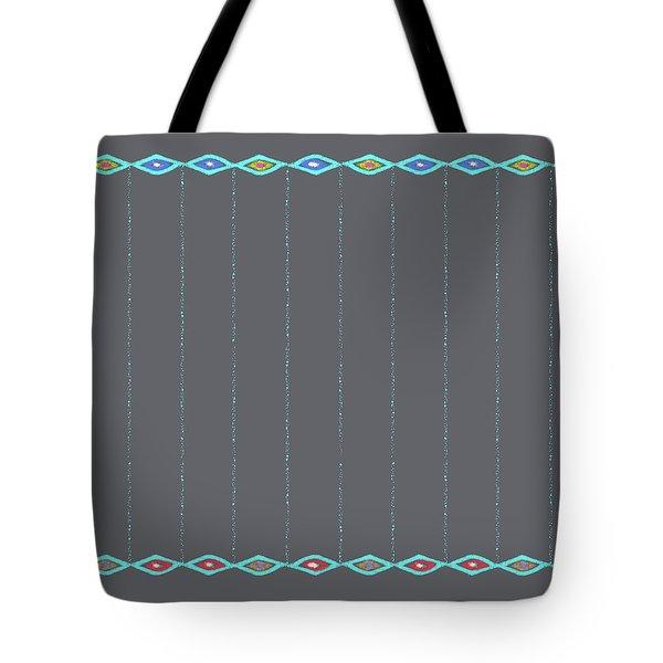 Diamond Eyes Charcoal Tote Bag