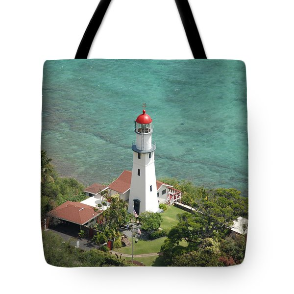 Diamond Head Lighthouse 2 Tote Bag