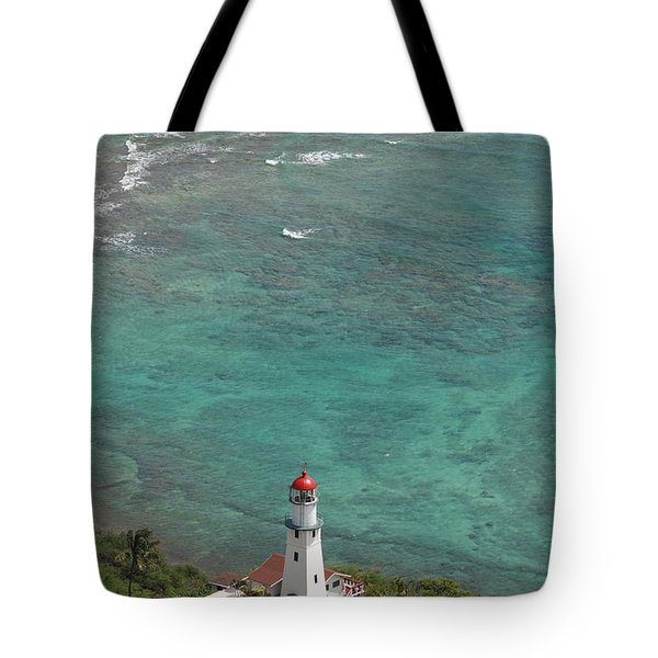 Diamond Head Lighthouse 3 Tote Bag