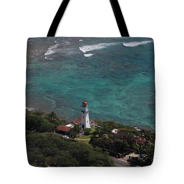 Diamond Head Lighthouse I Tote Bag