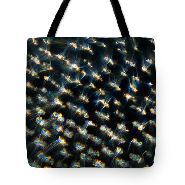 Tote Bag featuring the photograph Diamond Lights by Greg Collins
