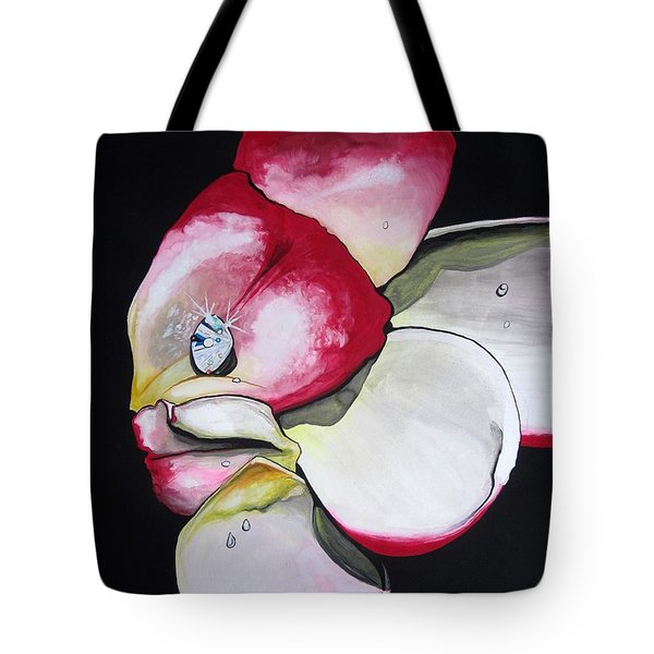 Tote Bag featuring the painting Diamond by Mary Ellen Frazee