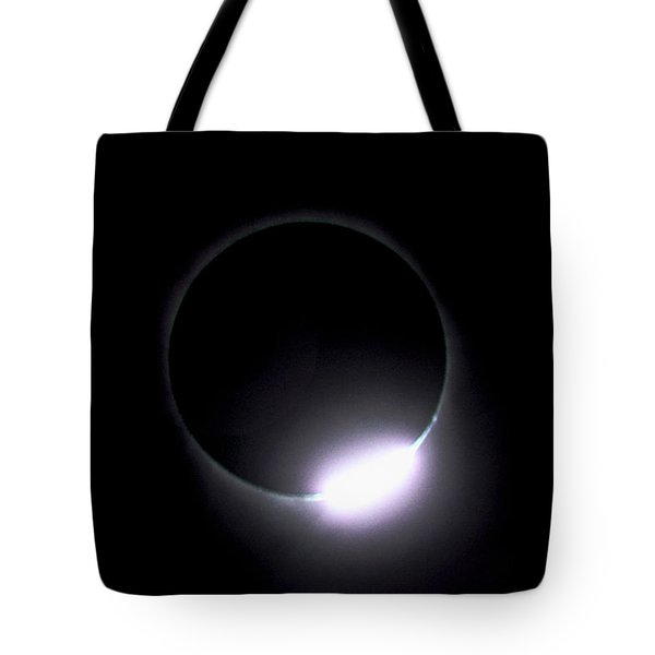 Diamond Ring During Solar Eclipse Tote Bag