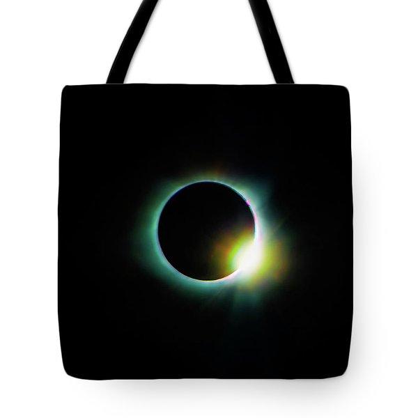 Diamond Ring - Eclipse 2017 Tote Bag