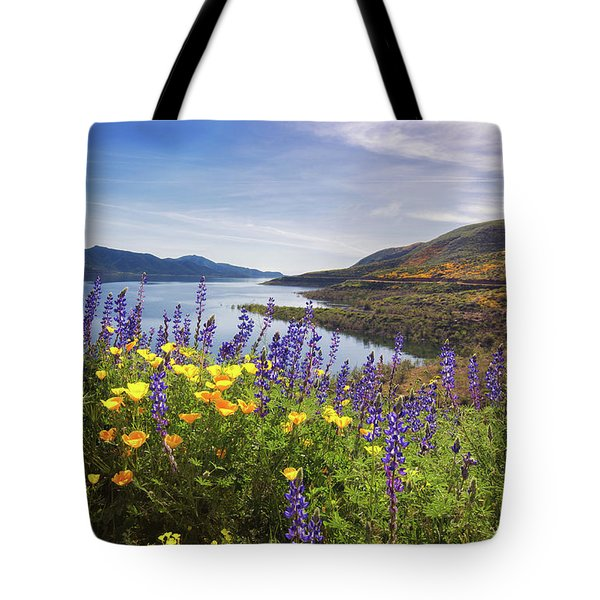 Diamond Valley Tote Bag