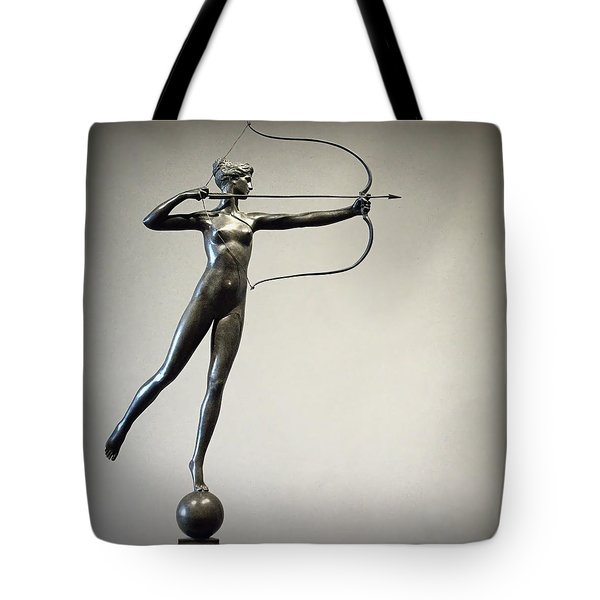 Diana Of The Tower Tote Bag