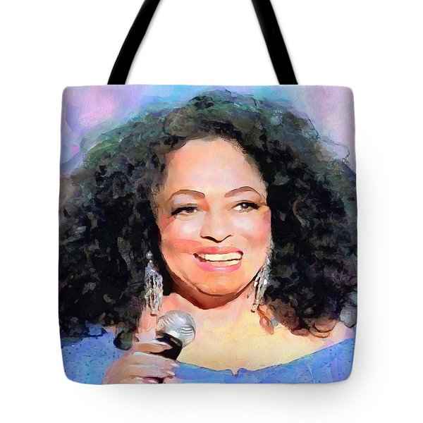 Diana Ross Tote Bag