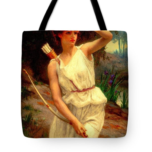 Diana The Huntress Guillaume Seignac  Tote Bag