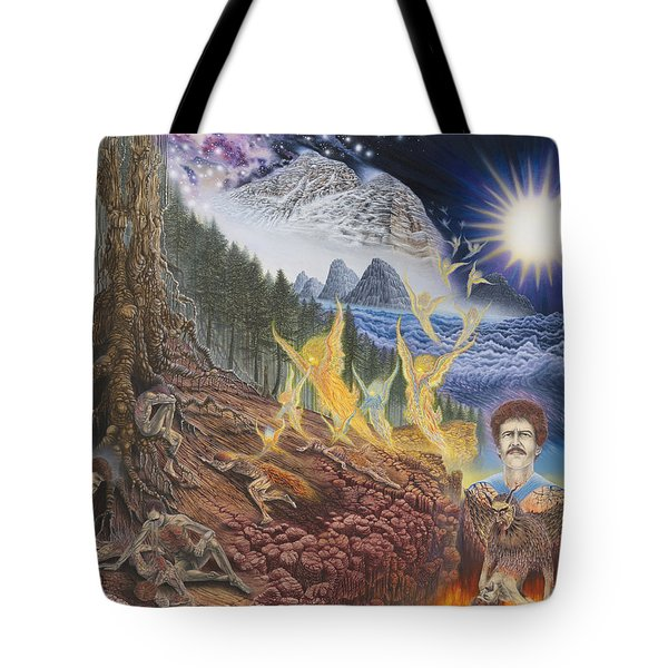 Diary Of First Recognition Tote Bag