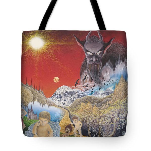 Diary Of Second Recognition Tote Bag
