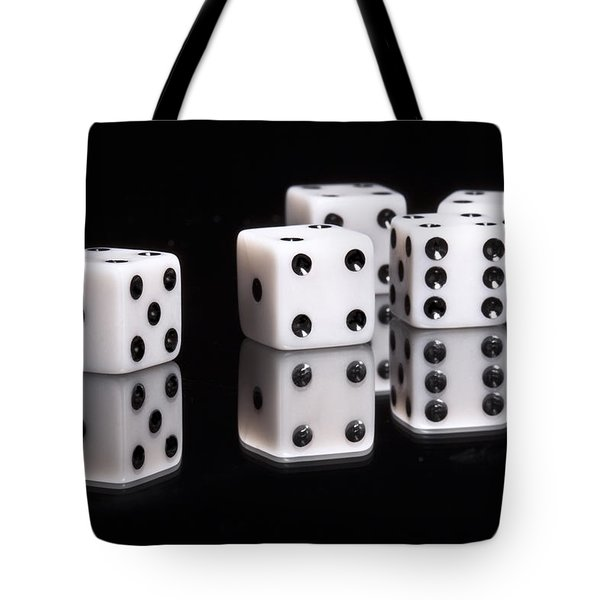 Dice II Tote Bag by Tom Mc Nemar
