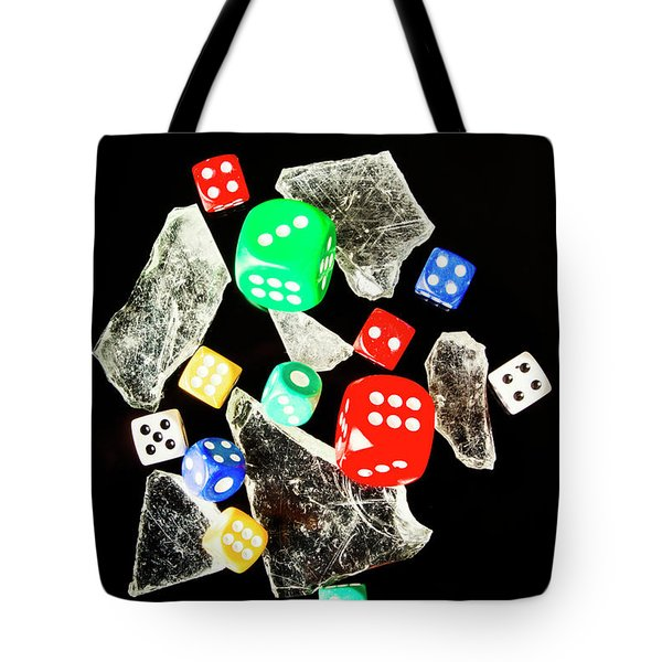 Dicing With Chance Tote Bag