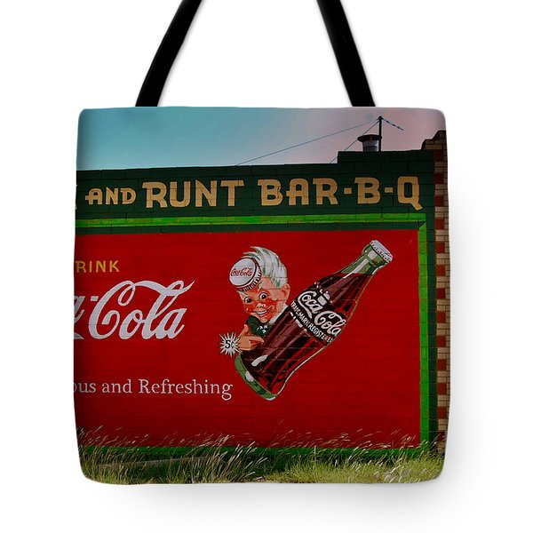 Dick And Runt Bbq Tote Bag