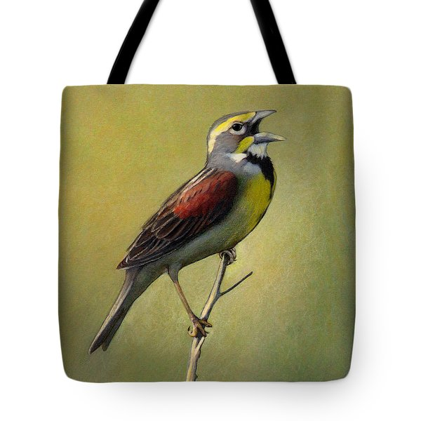 Dickcissel Summer Song Tote Bag