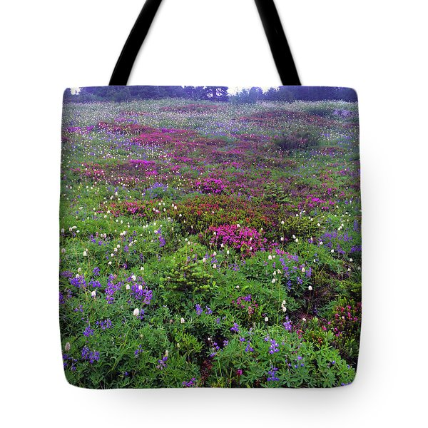 Dickerman Floral Meadow Tote Bag