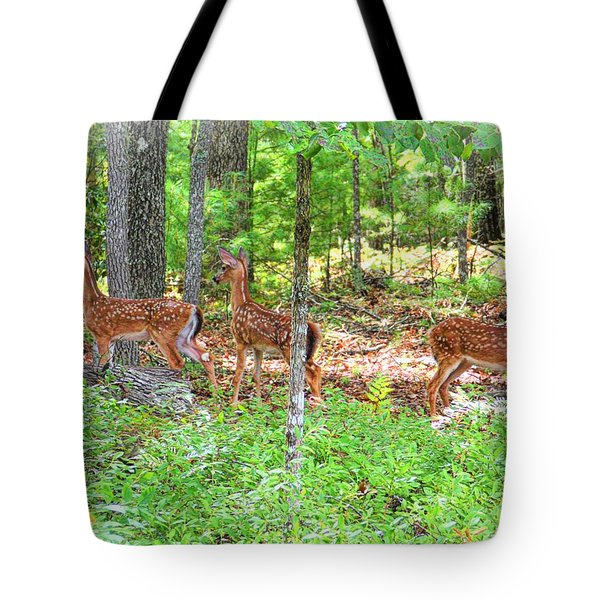 Did You Hear Something? Tote Bag