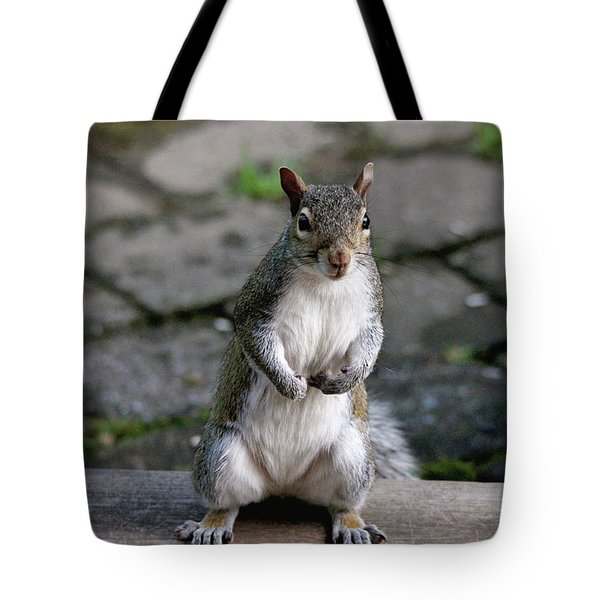 Tote Bag featuring the photograph Did You Say Peanuts? by Trina Ansel