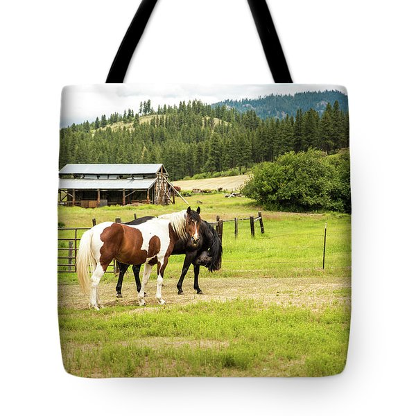 Did You Say Something? Tote Bag