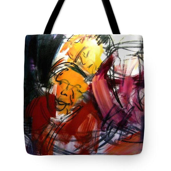 Diego And Maria Unfinished Tote Bag