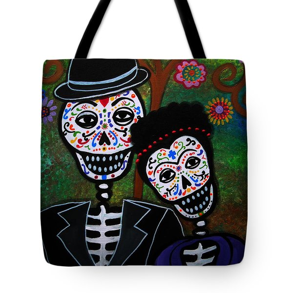 Diego Rivera And Frida Kahlo Tote Bag by Pristine Cartera Turkus