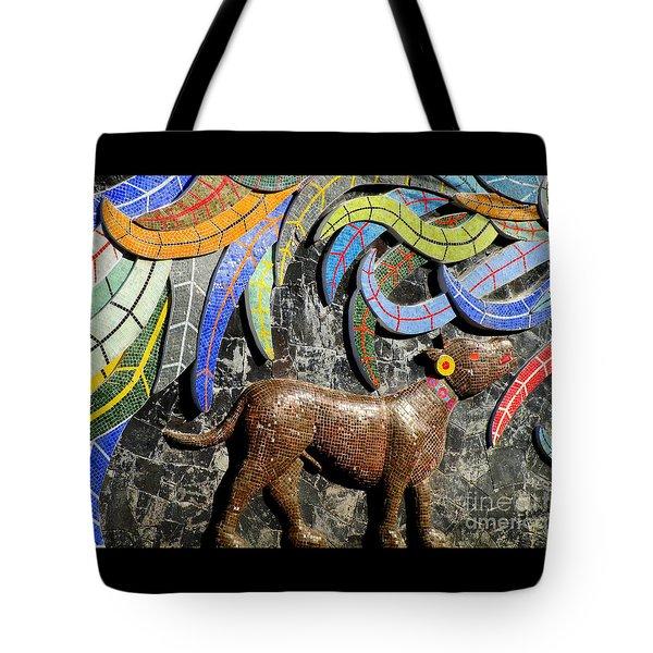 Diego Rivera Mural 4 Tote Bag