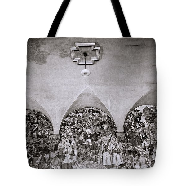 Diego Rivera Tote Bag