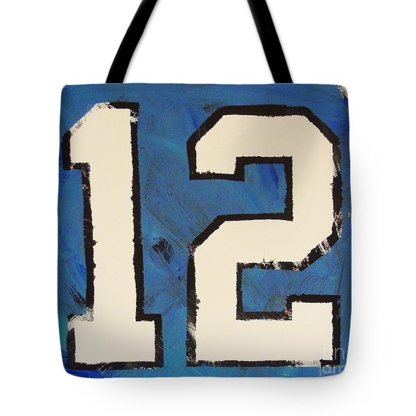 Diehard 12th Man Tote Bag
