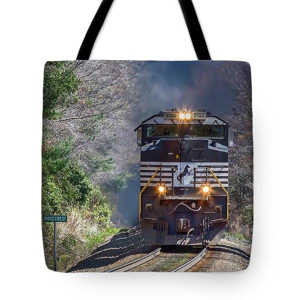 Diesel Engine Ns 2722 Tote Bag